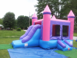 Pretty Princess Party Bounce House for a little girl in Lithonia Georgia